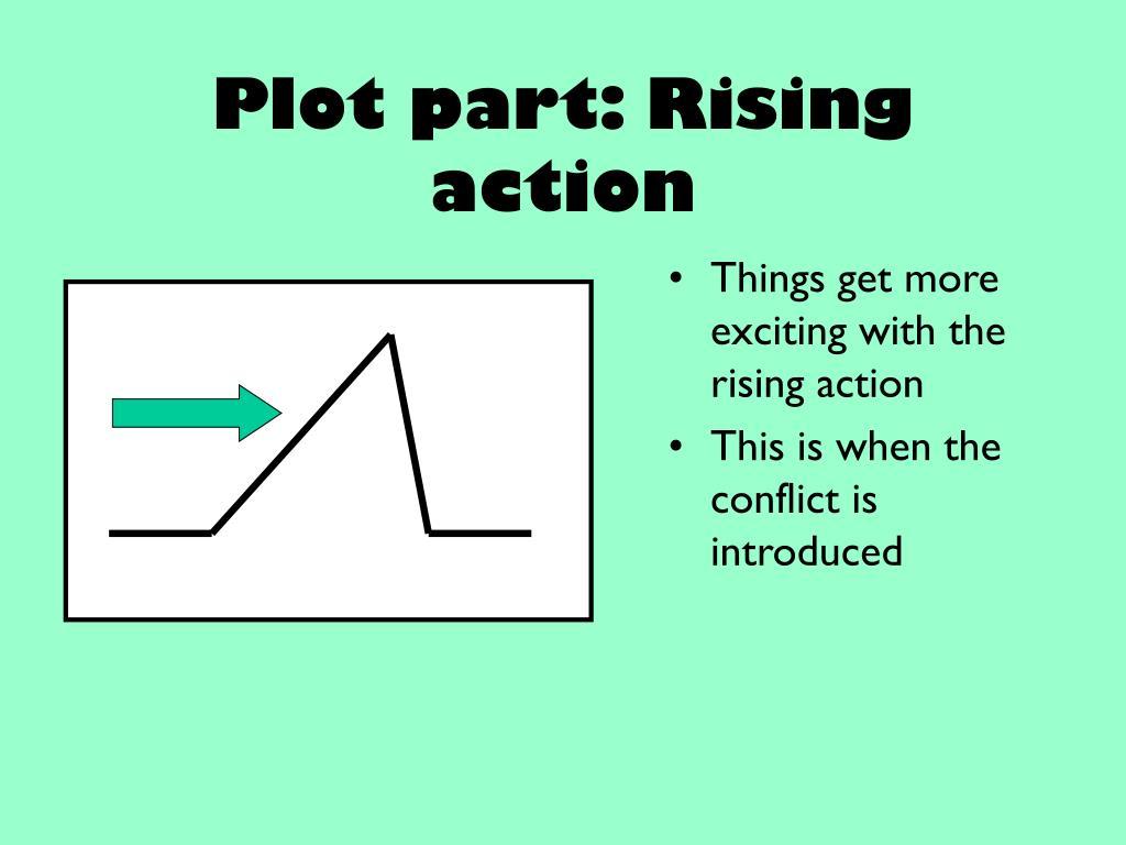 Plot part: Rising action
