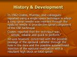 history development7