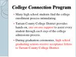 college connection program