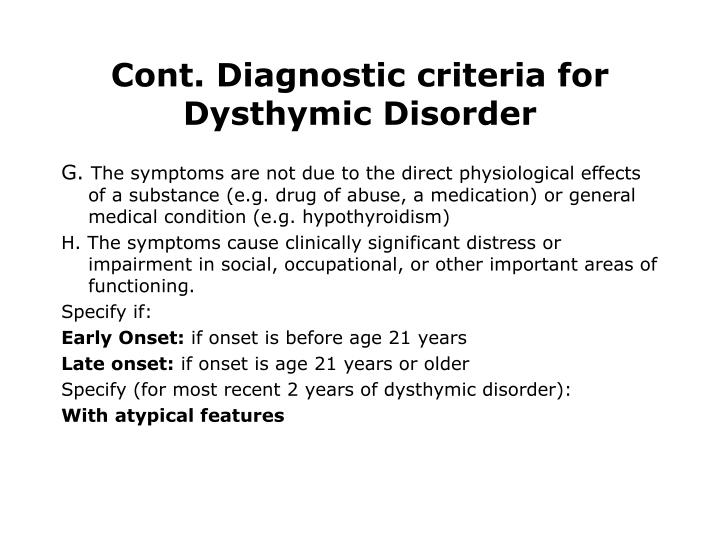 Definition Of Disorders