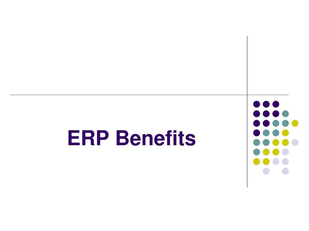 erp benefits l.