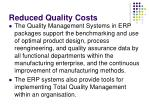 reduced quality costs