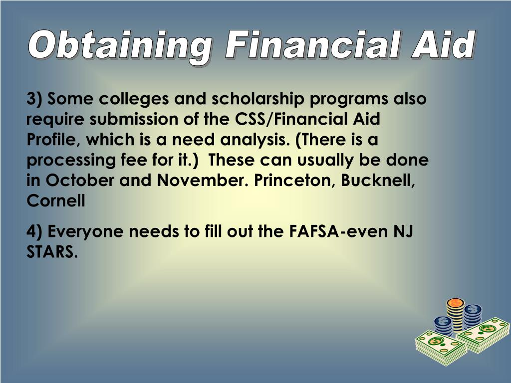 Obtaining Financial Aid