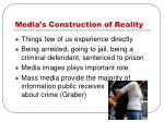 media s construction of reality
