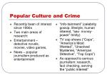 popular culture and crime