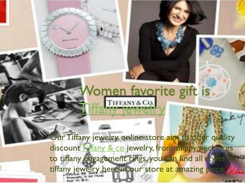 women favorite gift is tiffany jewelry
