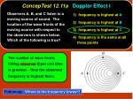 conceptest 12 11a doppler effect i28