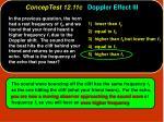 conceptest 12 11c doppler effect iii32