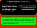 conceptest 12 1b sound bite ii4