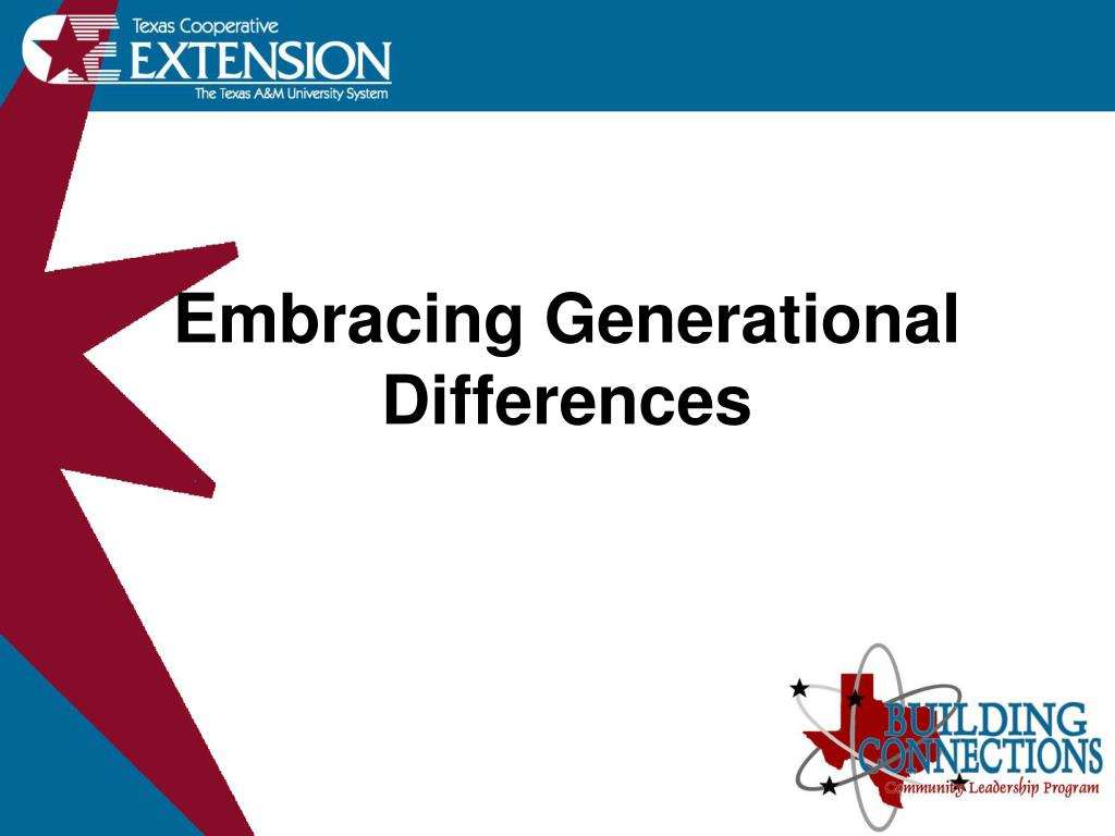 embracing generational differences l.
