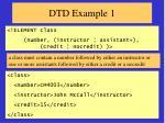 dtd example 1
