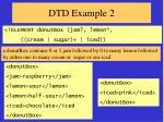 dtd example 2