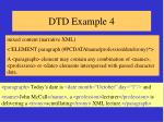 dtd example 4