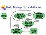 basic strategy of the gatherers