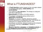 what is ftunshades