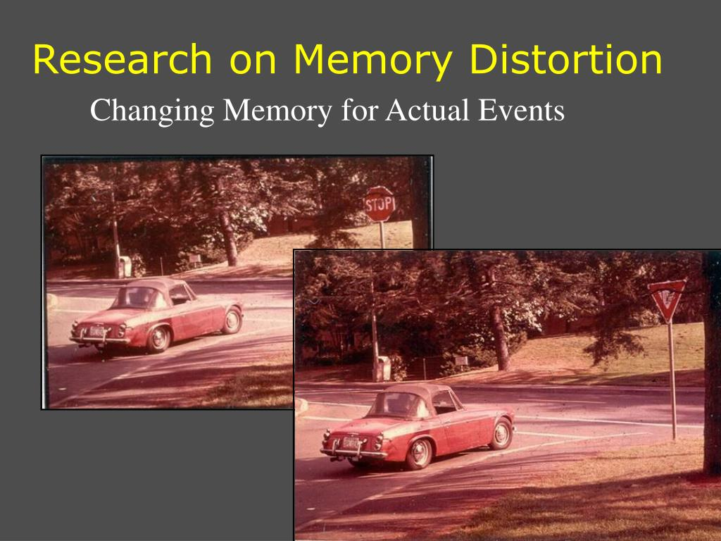 Research on Memory Distortion