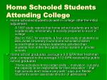 home schooled students attending college20