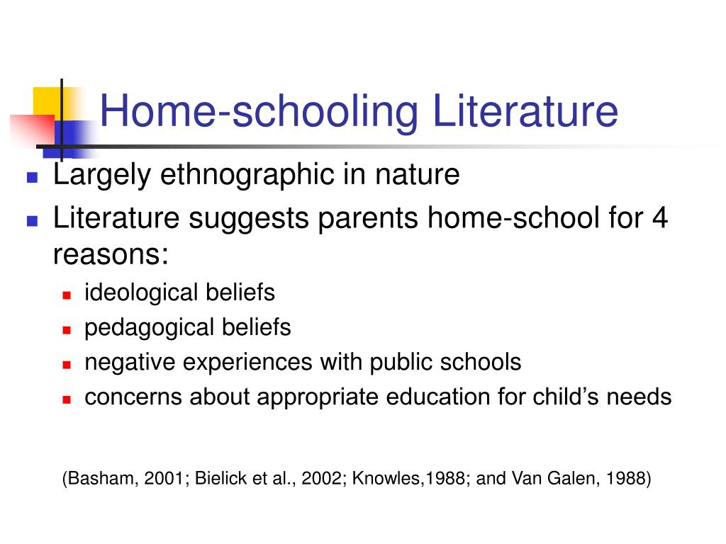 Home-schooling Literature
