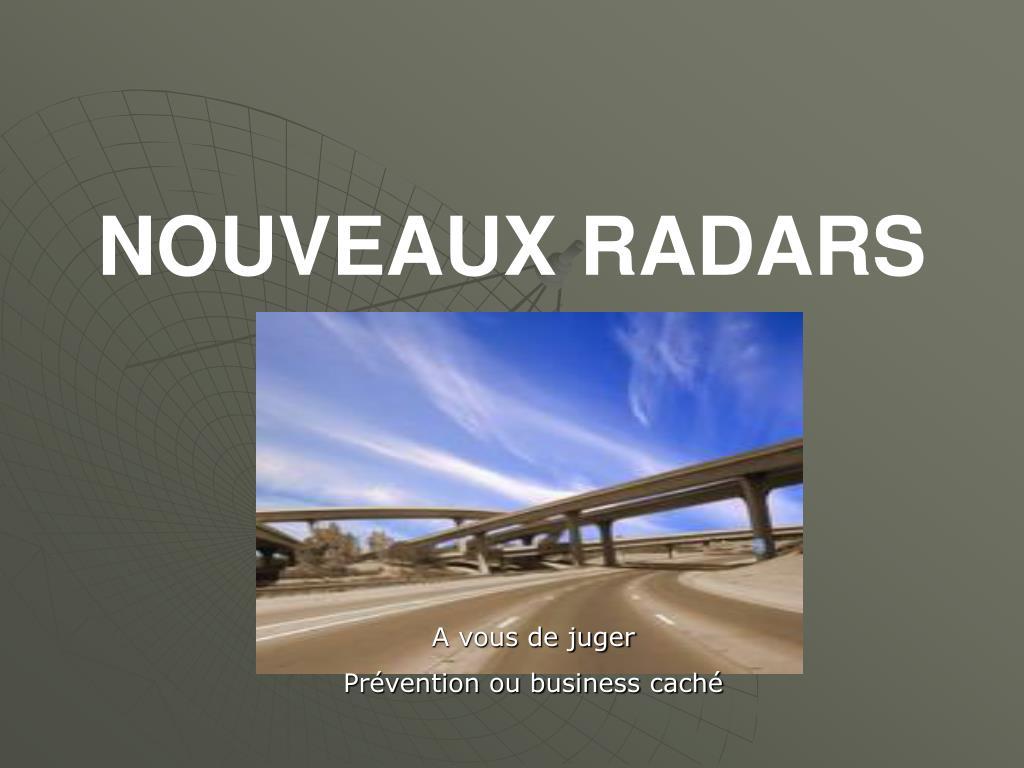 nouveaux radars l.