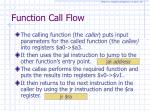 function call flow