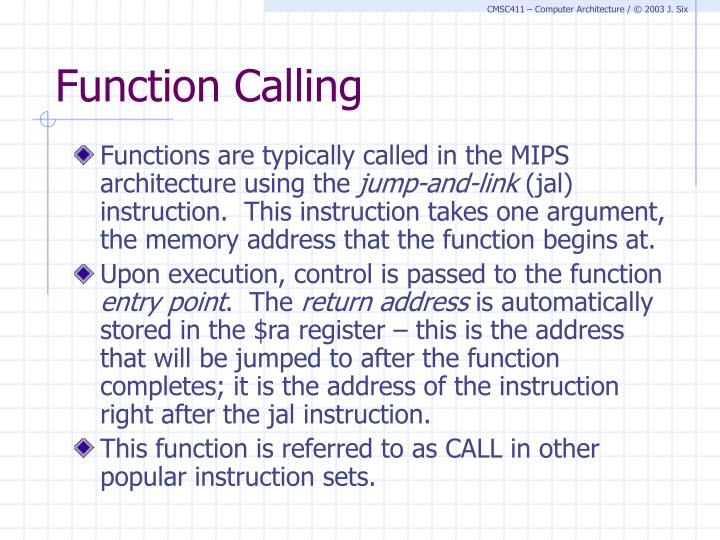 Function Calling
