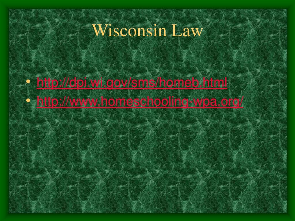 Wisconsin Law