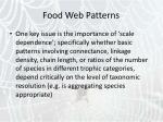 food web patterns40