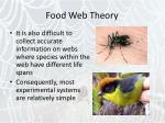 food web theory22