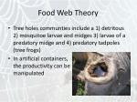 food web theory25