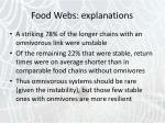 food webs explanations12