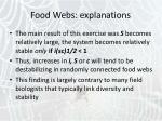 food webs explanations14