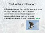 food webs explanations18