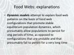 food webs explanations3