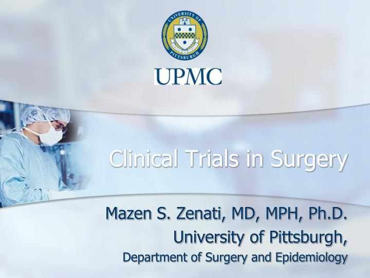 clinical trials in surgery n.
