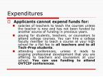expenditures66