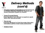 delivery methods cont d12