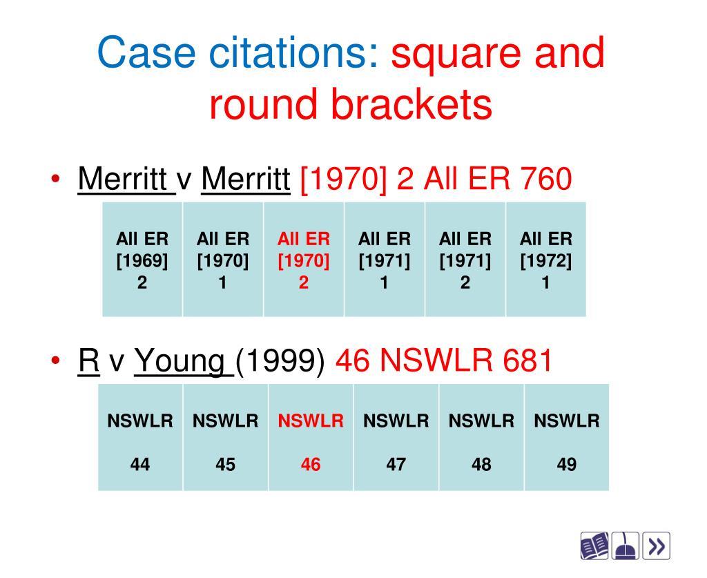 Case citations: