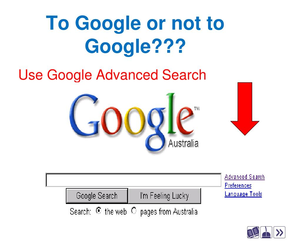 To Google or not to Google???