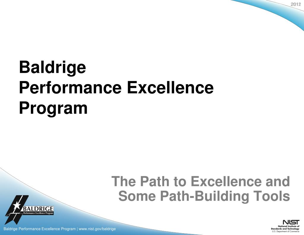 the path to excellence and some path building tools l.