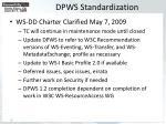 dpws standardization20