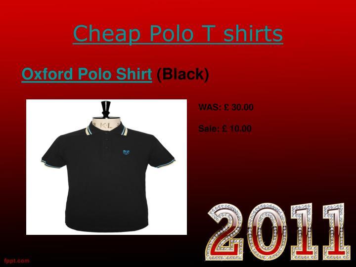 Cheap polo t shirts