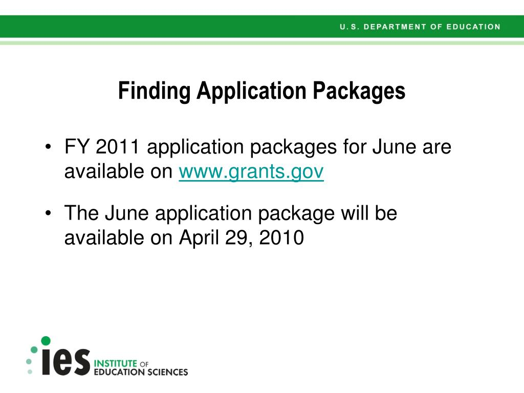 Finding Application Packages