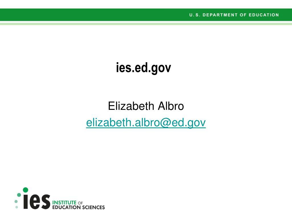 ies.ed.gov