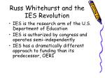 russ whitehurst and the ies revolution