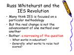 russ whitehurst and the ies revolution3