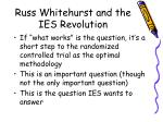 russ whitehurst and the ies revolution4
