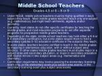 middle school teachers grades 4 5 or 6 8 or 9