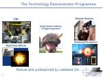 the technology demonstrator programme