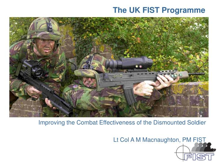 the uk fist programme n.