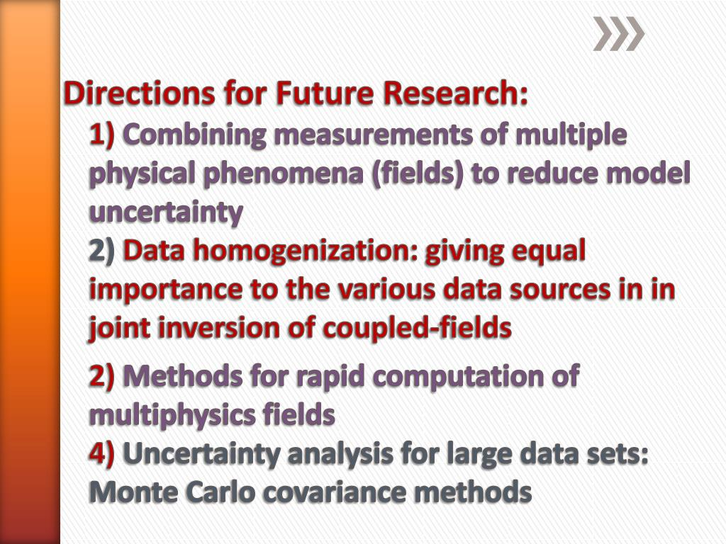 Directions for Future Research:
